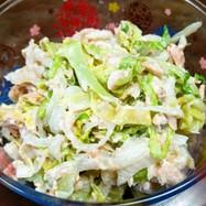 簡単✨大根とキャベツと鮭フレークのサラダ