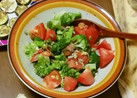 ブロッコリーとトマトのハニーマスタード