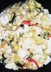 東南アジア風あんかけ豆腐