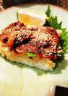 簡単 秋刀魚の蒲焼き缶 de 押し寿司