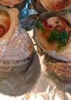 オリーブオイルとにんにくで!サザエ壷焼き