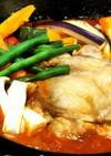鶏ソテートマト煮