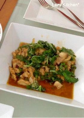 タイ料理 ガパオガイ~鶏肉のバジル炒め~