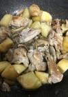 鶏肉と舞茸とじゃがいものマヨポン炒め