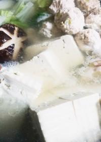 低糖質☆塩ちゃんこ鍋