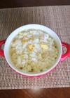 炒飯のオニオンスープ茶漬け(‾0‾;