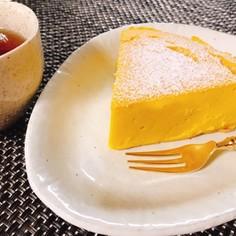 乳製品・小麦粉不使用!かぼちゃのケーキ