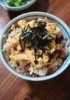フライパンで作る 鶏ごぼう飯