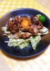 豚ロースの味噌山椒焼き