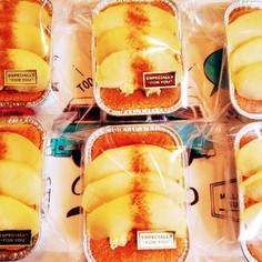 りんごとシナモンのカップシフォンケーキ