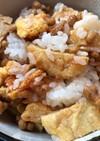 納豆と豆腐でつくったナゲットのご飯