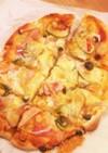 薄力粉で簡単クリスピーピザ