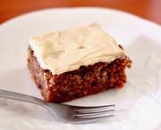にんじんの栄養まるごとキャロットケーキ。の写真