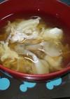 舞たまスープ(舞茸と玉子のスープ)