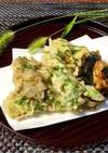 舞茸のシソ入り天ぷら