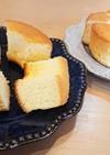 シフォンケーキ(セリア商品を使って)