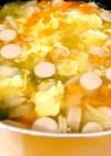 ウインナーと野菜と卵のスープ☆