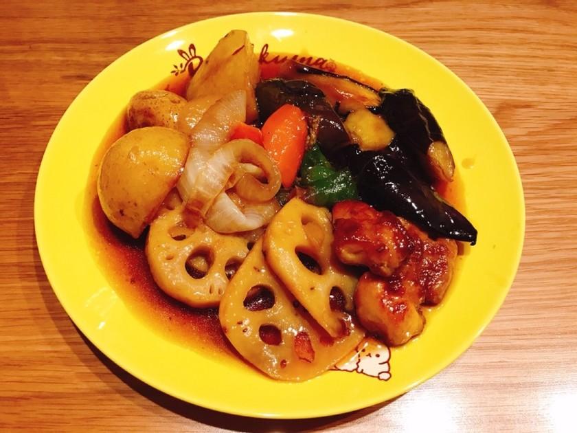 大戸屋風●鶏と野菜の黒酢あん