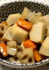 里芋とはすの煮っころがし柚子風味
