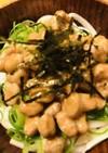 毎日の納豆●ぶっかけ納豆ネギうどん