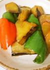 作り置き☆ナスとピーマンのピリ辛炒め煮