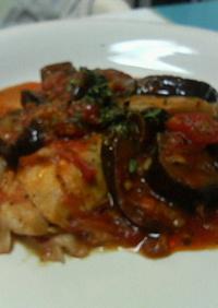 金目鯛のトマト煮