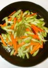 セロリのピクルス♪簡単オリーブオイル炒め
