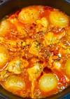No2246手羽元と玉葱のトマト煮込み
