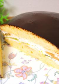 ロッテのチョコパイ風ビッグケーキ