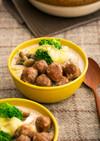 ミートボールと白菜のミルクチーズ鍋