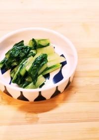簡単✿小松菜のお漬物