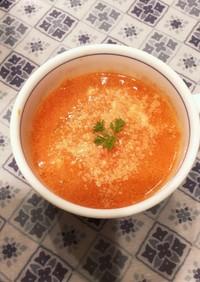 トマト嫌いのためのトマトクリームスープ