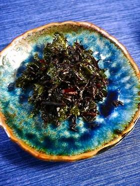 痛風対策!ひじきと海苔の簡単佃煮