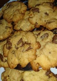 ザクッとチョコチャンククッキー