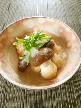 【野菜ソムリエ】大黒本しめじのおろし煮