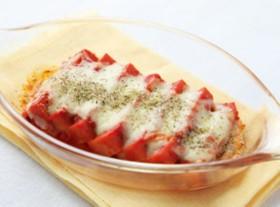 【乾物】高野豆腐のチーズ焼き