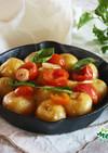 アンデスポテトとトマトのホットサラダ