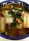 カルビ入りキムチスープ