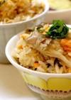 麹生活☆舞茸と焼き鮭の炊き込みご飯