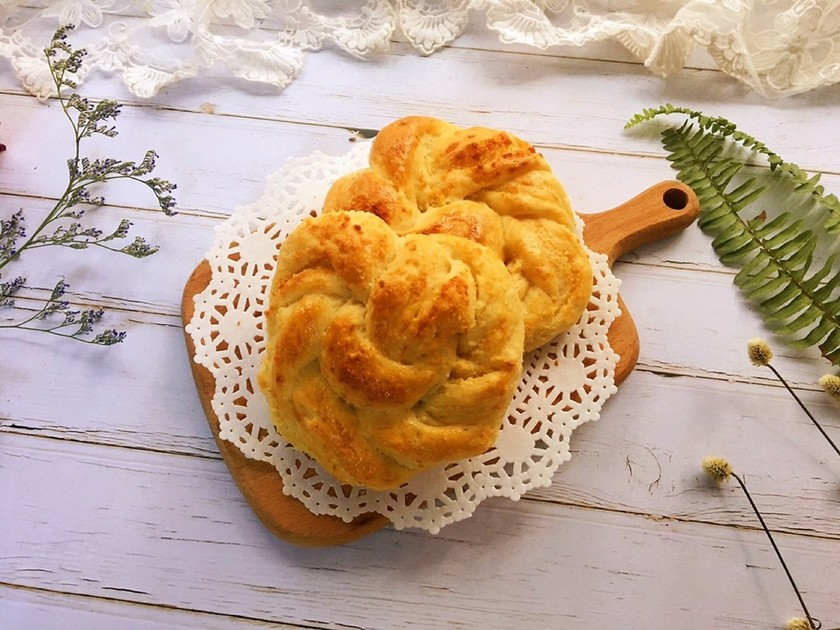 ふわふわ☆南洋風ココナッツパン