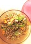 緑レンズ豆サラダ