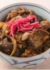 【乾物】牛肉干ししいたけ丼
