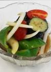 松山長なすと夏野菜のカレー風味マリネ