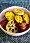 蓮根のさつま芋の甘辛炒め◆副菜◆お弁当