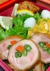 お弁当に!彩り綺麗。鶏肉の野菜巻き♪