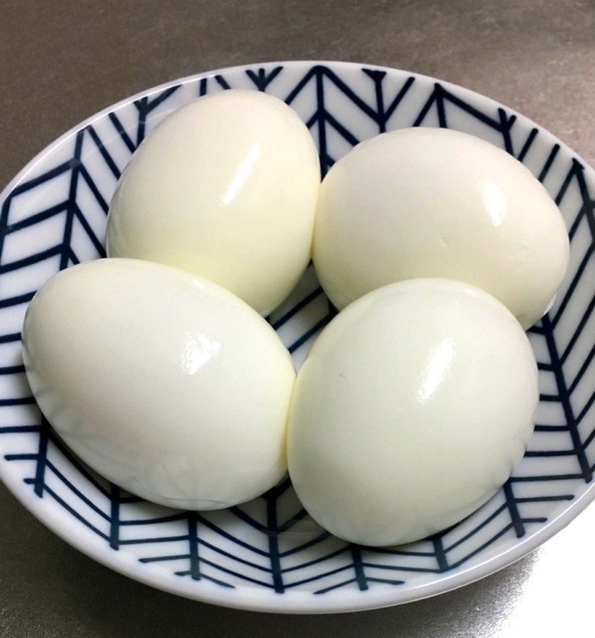 道具は不要☆簡単にむける茹で卵の作り方