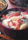 ★紅鮭を使ったほっこり田舎風粕汁★