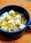 キャベツのエスニックスープ