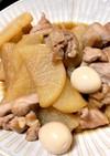 大根&うずら卵&鶏肉煮
