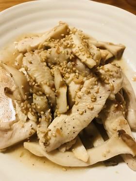 鶏むね肉のはちみつ&はちみつ梅ソース炒め